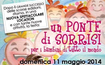 """11 maggio – Festa per bambini """"Un ponte di sorrisi"""" – Sinergia"""